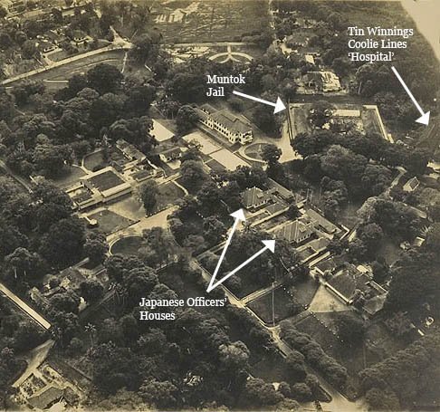 Aerial View of Muntok Reduced with Arrows