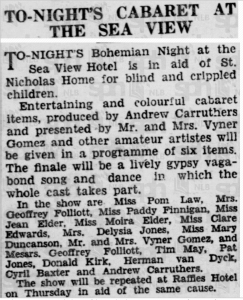 Andrew Carruthers ref 30 September 1939