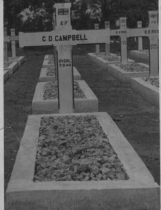 Grave of Colin Campbell died Muntok 1944