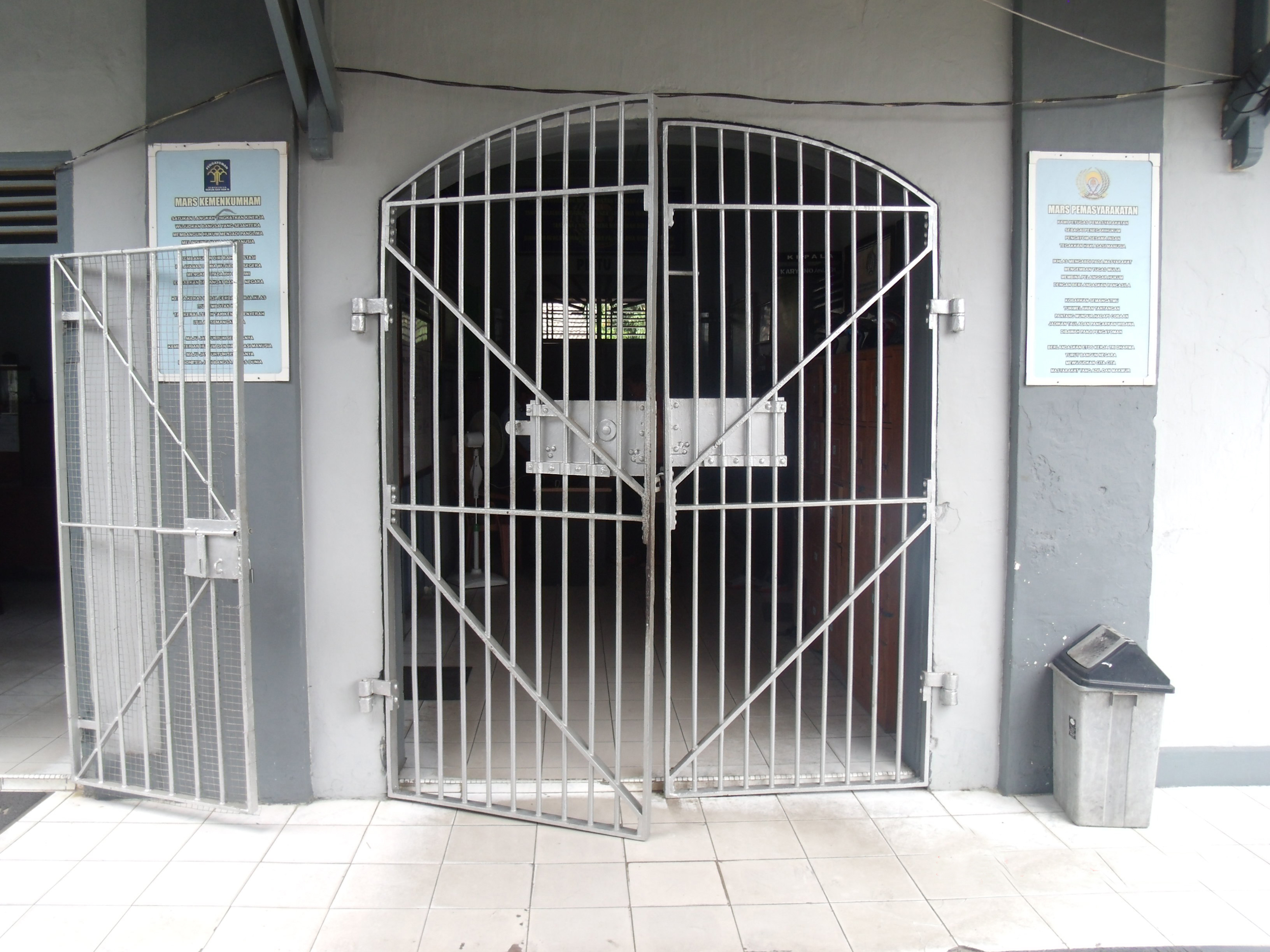 The C& And Jail At Muntok The Palembang And Muntok & Cell Door - Sanfranciscolife