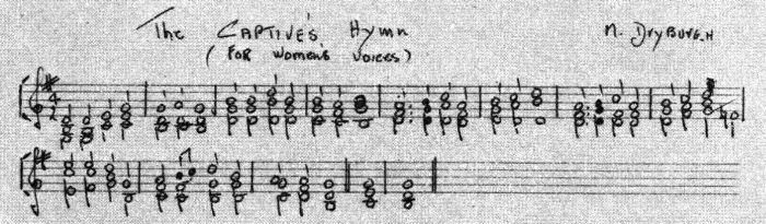 The Captive's Hymn