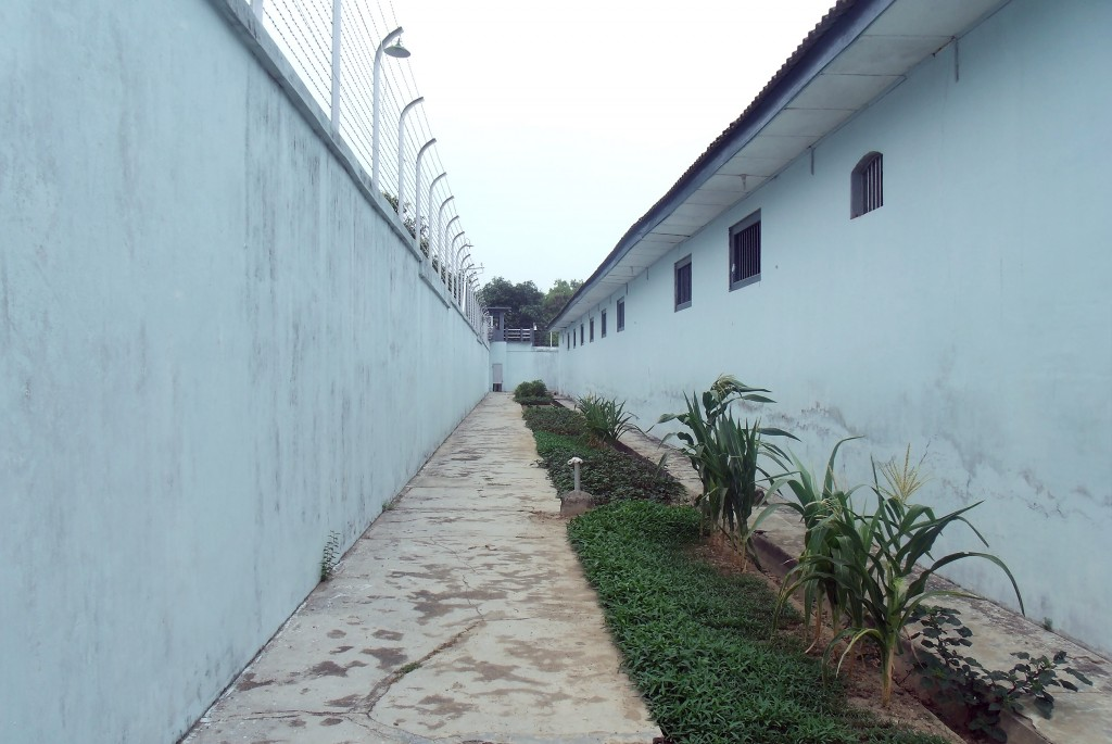 Wall at Muntok Jail 2015
