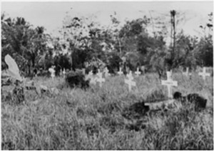 Abandoned Cemtery at Muntok 1968 for web