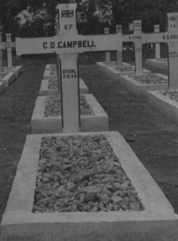 Grave of Colin Campbell died Muntok 1944A