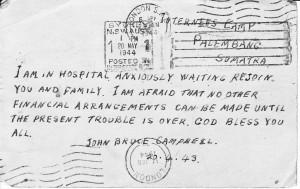 John Bruce Stuart Cambpell Post Card1A