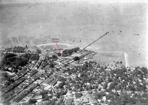 Muntok Pier Aerial View 2 1930s for web2