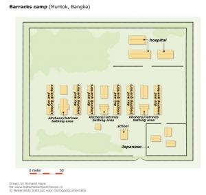Muntok-Prison-Camp-Map