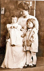 Effie McKern with sons