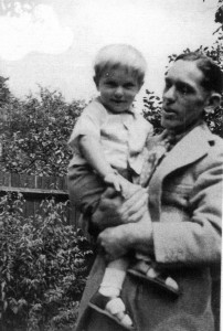 Donal Pratt with son Anthony