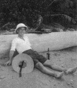 Donald Frederick Pratt Relaxing