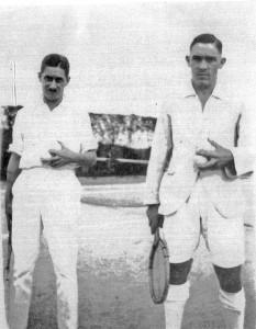 Donald Frederick Pratt Tennis