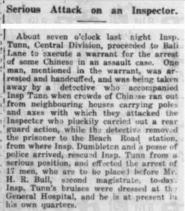Tunn Mention 18 August 1921