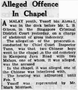 Tunn Mention 27 January 1939