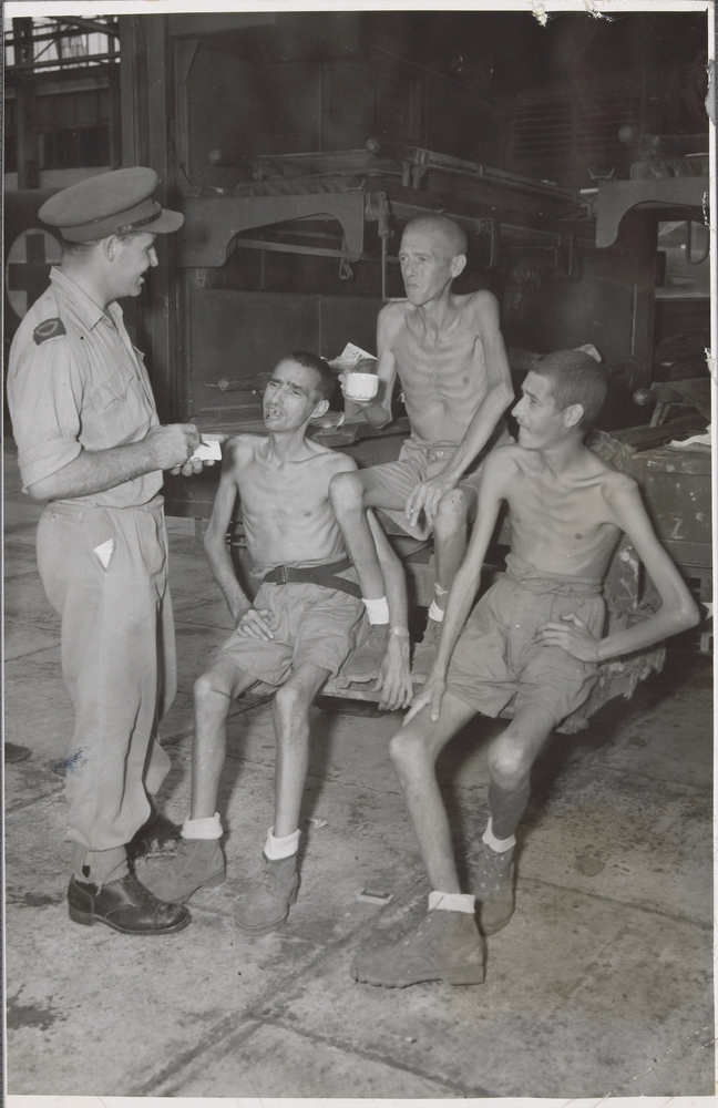 Liberated Prisoners from Palembang
