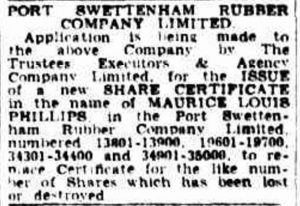 Maurice Phillips The Argus Melbourne 21 Feb 1952