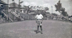 Young Local Boy at Irenelaan Prewar