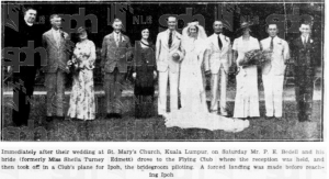 Beddell Wedding 14 October 1936