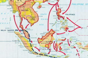 Japanese Invasion Routes