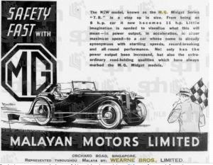 Waerne Bros MG Ad 5 Jan 1940