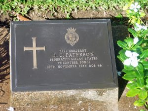 James Campbell Paterson Grave