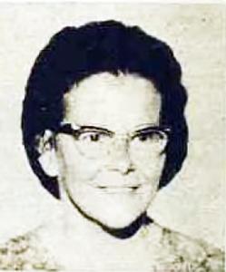 Joan Sinclair 1969
