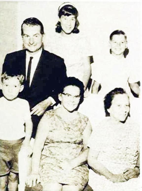 Joan Sinclair Family Group