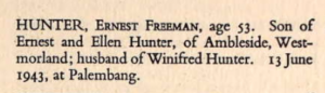 Ernest Freeman Hunter