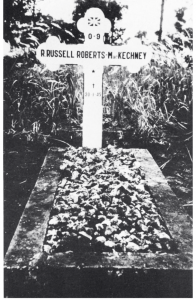 Ruth Russell Roberts Grave at Muntok