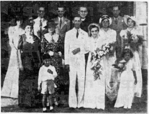 Van Geyzel Wedding 12 Feb 1938