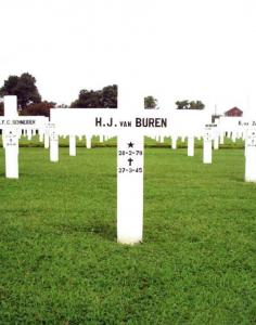 James Henry Van Buren Grave Marker